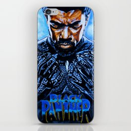 Black Panther Merchandise iPhone Skin
