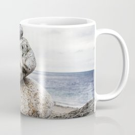 Rock Pile, Fort Worden State Park,  WA Coffee Mug