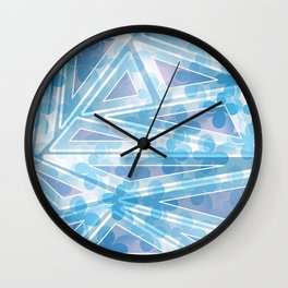 Flower Motifs 2 Wall Clock