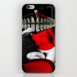 Die Säulenheilige 2 · rot iPhone Skin