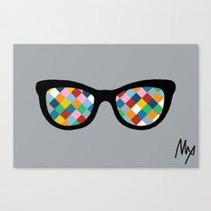 Diamond Eyes Canvas Print