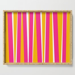 Chewy Candy Stripes Serving Tray