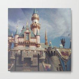 Sleeping Beauty's Castle Metal Print