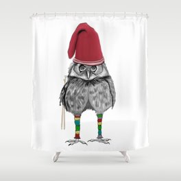 Christmas Knit Shower Curtain