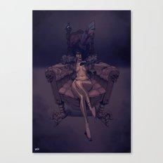 Princesse Chaussette Canvas Print