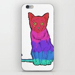 Graffiti Cat iPhone Skin