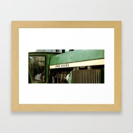 It's Deere Season Framed Art Print