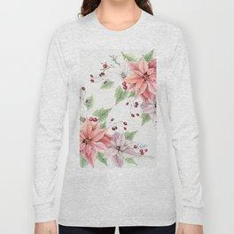 Poinsettia 2 Long Sleeve T-shirt