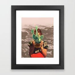 THIRSTY Framed Art Print