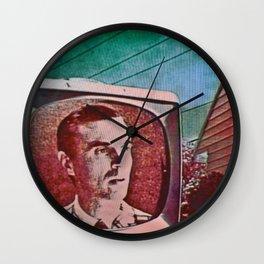 A Talking Head Wall Clock