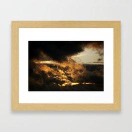 Gloomy Sky 0001 Framed Art Print