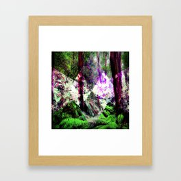 Elements : Earth Framed Art Print
