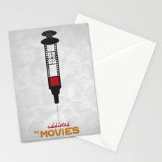 Addicted: Movies Stationery Cards