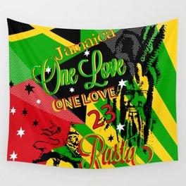 Reggae Rasta Party Wall Tapestry