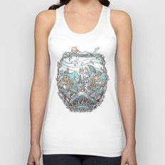 What Lurks Beneath Unisex Tank Top