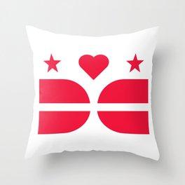 DCLove: v.Pride Throw Pillow
