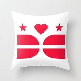 DCLove: v.Pride Throw Pillow