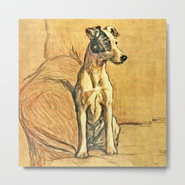 Dogs Large and Small, Ideal for Dog Lovers (8) Metal Print