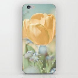 Bees And Flowers iPhone Skin