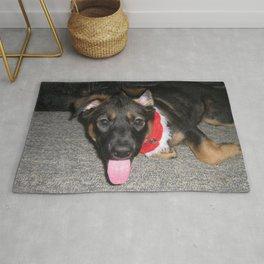 Koda floppy ears Rug