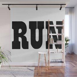 Run Wall Mural