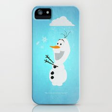 Olaf (Frozen) Slim Case iPhone (5, 5s)