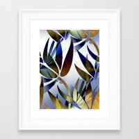 bamboo Framed Art Prints featuring Bamboo by Artisimo
