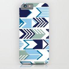 Tribal Arrows (Blues) iPhone 6s Slim Case