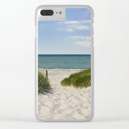 little paradise Clear iPhone Case