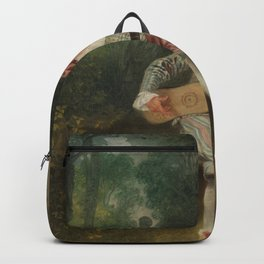 Antoine Watteau - Mezzetin Backpack