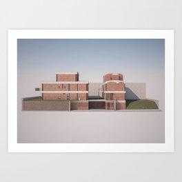 Jaoul Nord Art Print