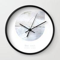 libra Wall Clocks featuring Libra by bialakura