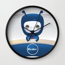 News Ranky Wall Clock