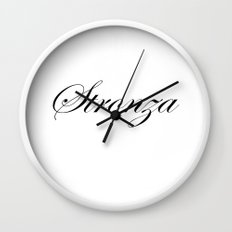 STRONZA Wall Clock