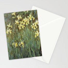 Claude Monet - Iris Jaune Stationery Cards