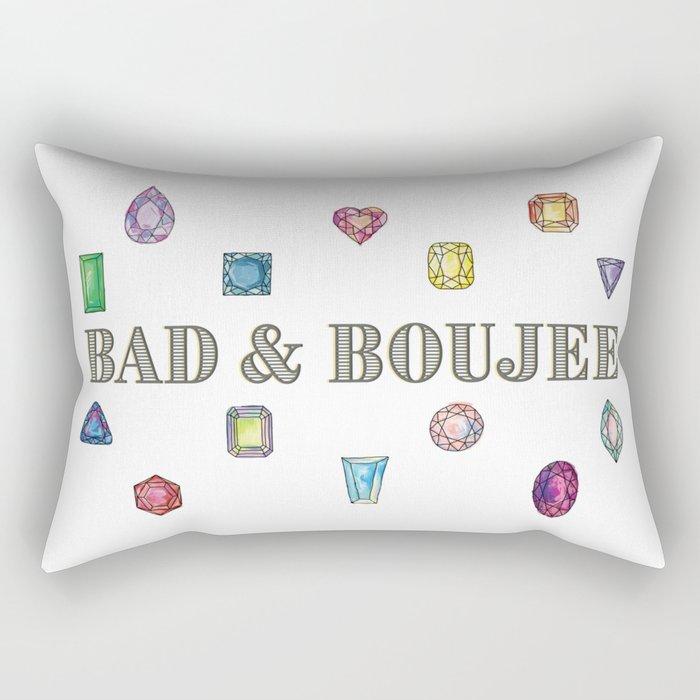 Bad&Boujee Rectangular Pillow