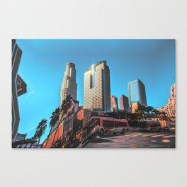 City Glitch Canvas Print
