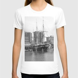 A US Frigate Ship in Baltimore, MD T-shirt