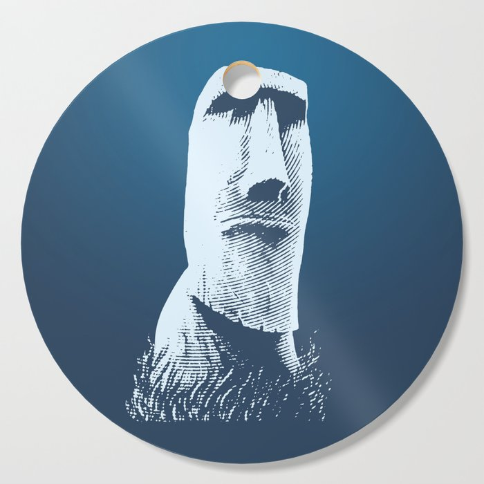 Moai #1 Cutting Board