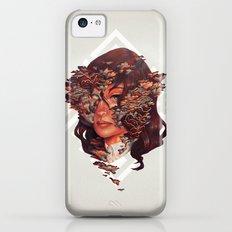 Medusoid mycelium iPhone 5c Slim Case