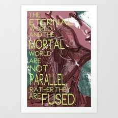 Mortal/Eternal Art Print