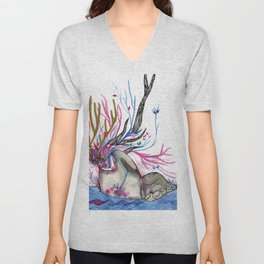 The nature woman Unisex V-Neck