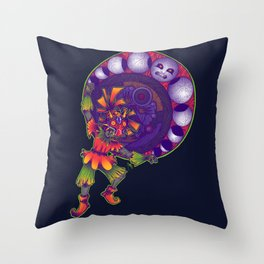 Kid's Moon Phases Throw Pillow