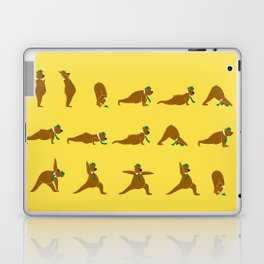 Yoga Bear - Classic Laptop & iPad Skin