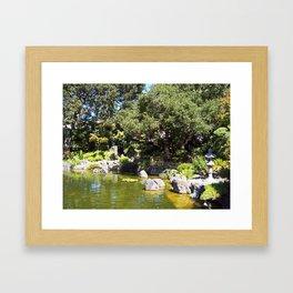 Japanese Gardens 100 0044 Framed Art Print