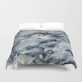Blue Bayou Marble Duvet Cover