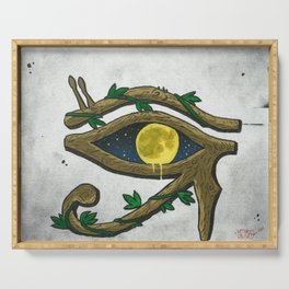 Moon Eye Serving Tray