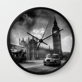 Westminster Bridge London  Wall Clock