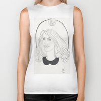 lydia martin Biker Tanks featuring Lydia by Wolfhearted