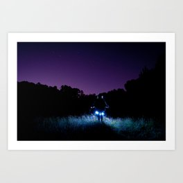 Shooting Stars Art Print